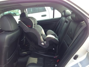 Car Seat In The Middle