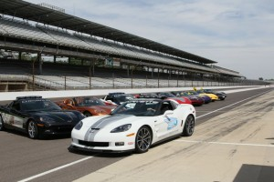 Corvettes at the Speedway