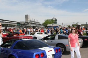 Indianapolis Motor Speedway corvettes