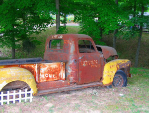 Bill Monroe's Truck with Rust