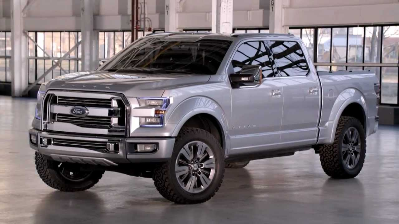 Looking at the Ford Atlas Concept
